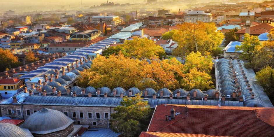Bursa'nın 7 asırlık 'ticaretin kalbi' cazibe merkezi oluyor