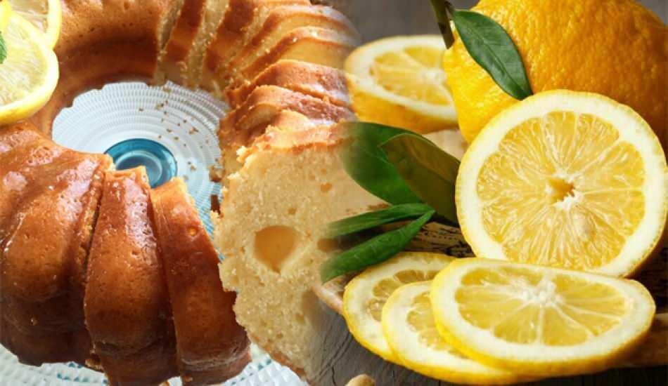 Diyete uygun enfes limonlu kek tarifi! Evde limonlu kek nasıl yapılır? Püf noktaları