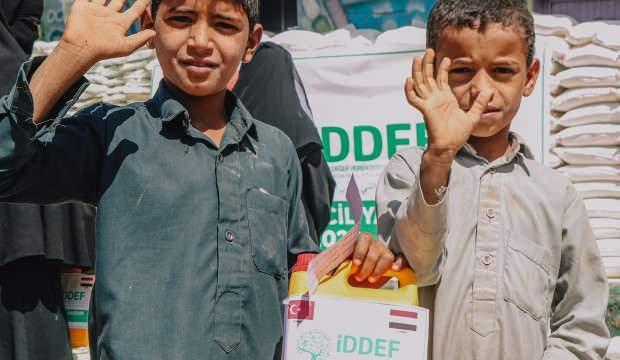 İDDEF, Yemen'de yüzleri güldürüyor