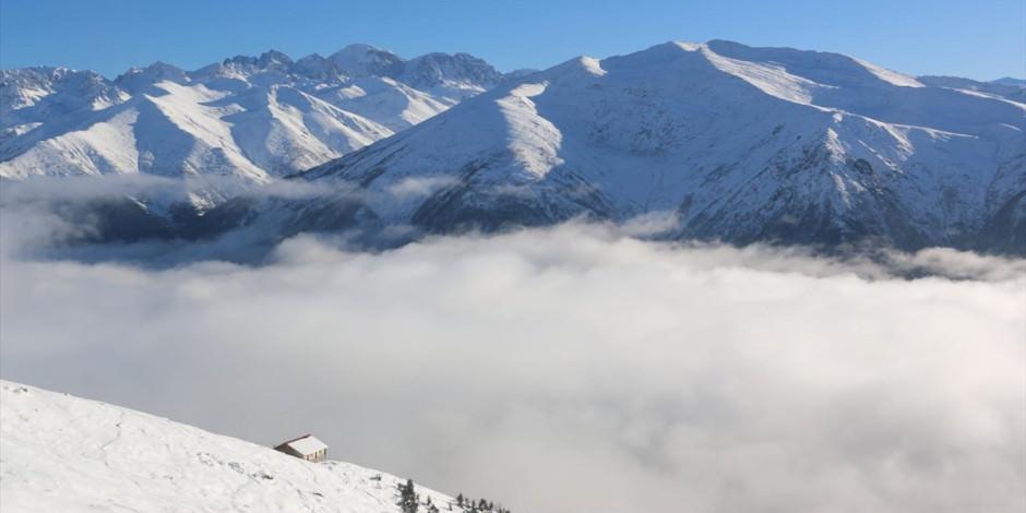 Kaçkar Dağları'nda 'bulut denizi'