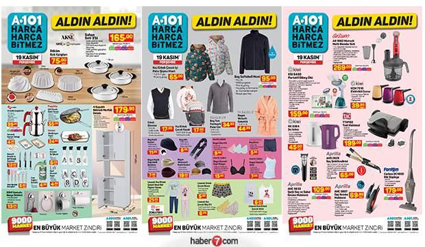 20 Kasım A101 Aktüel Katalog | A101 indirimli ürünlerin tam listesi belli oldu!