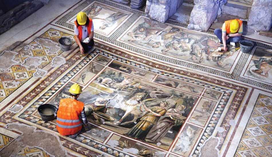 Antakya'da bulunan yeni mozaikler nerede? Mozaikler için ziyaretçi izni var mı?