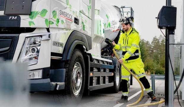 Volvo'nun elektrikli kamyonları Avrupa yollarına çıkacak