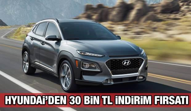 Hyundai'den 30 bin TL indirim: Hyundai  i10, i20, Elentra, Kona, Tucson fiyatları