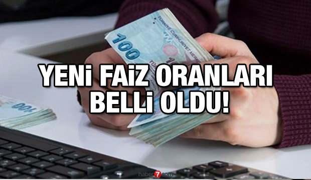 İhtiyaç |Konut |Taşıt Kredisi faiz oranları: Halkbank Ziraat QNB Yapı Kredi TEB faiz oranları