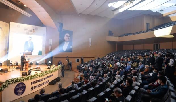 Kahramanmaraş'ta 1. Uluslararası Şiir ve Edebiyat Günleri başladı