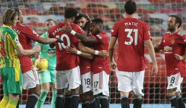 M.United 3 puana Fernandes ile uzandı