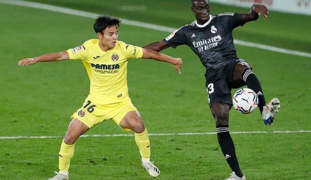 Real Madrid, Villarreal deplasmanında berabere kaldı