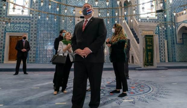 Pompeo, Rüstem Paşa Cami'ni neden ziyaret etti? ABD'li Bakan'dan imalı açıklama