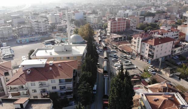 Türkiye'de bir ilk! Dev borular getirildi