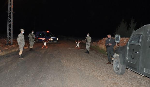 Adıyaman'da bir köy karantinaya alındı