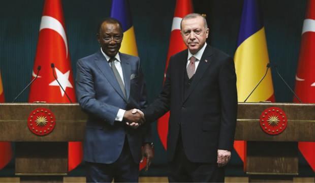 Cumhurbaşkanı Erdoğan, Çad Cumhurbaşkanı ile görüştü