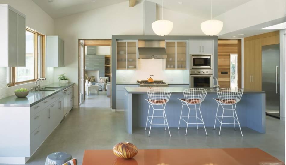 En şık açık mutfak salon dekorasyonu önerileri