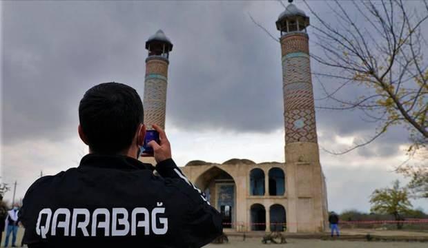 Karabağ, 27 yıl sonra Ağdam'a ayak bastı!