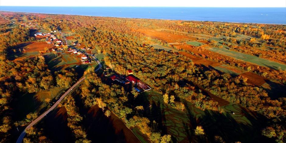 Kızılırmak Deltası Kuş Cenneti'nde seyrine doyulmaz manzaralar