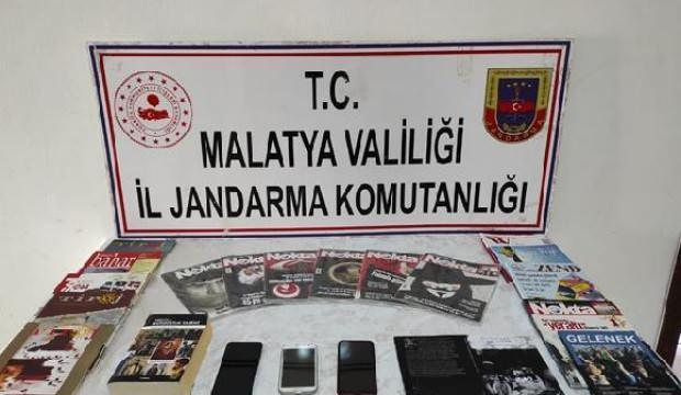 Malatya'da, PKK/KCK operasyonu: 2 gözaltı
