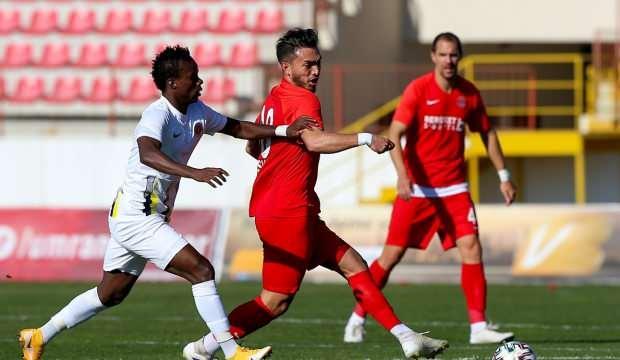 Menemenspor 2 golle kazandı