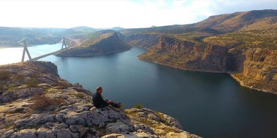 Şanlıurfa'nın Norveç fiyortlarını aratmayan güzelliği: Takoran Vadisi