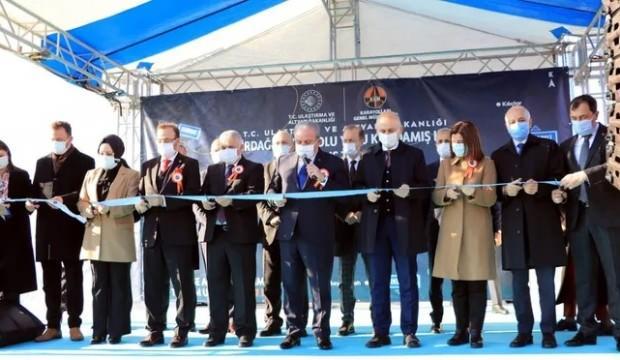 Tekirdağ-Hayrabolu Yolu Kandamış Kesimi düzenlenen törenle açıldı