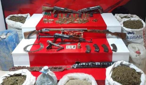 Van'da silah ve uyuşturucu operasyonu