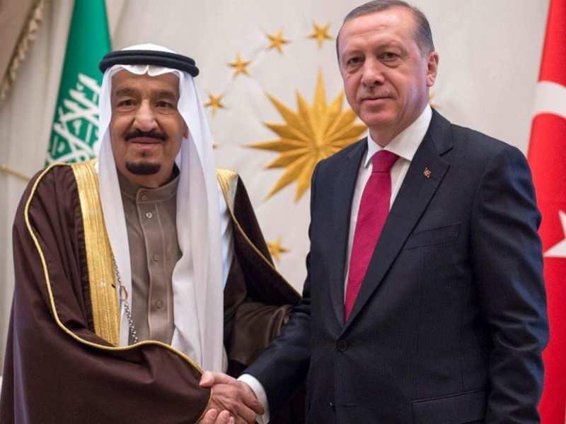 Kral Selman ve Erdoğan