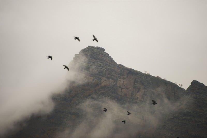 Tunceli'nin yüksek kesimlerinde etkili olan sis, kartpostallık görüntüler oluşturdu.