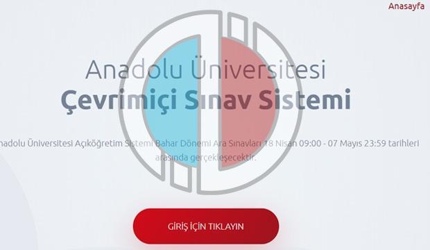 AÖF sınavlarında kritik değişiklik! Anadolu Üniversitesi 12-13 Aralık tarihli online sınavda...
