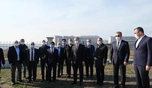 Bursa Şehir Hastanesi hattında imalat başlıyor!