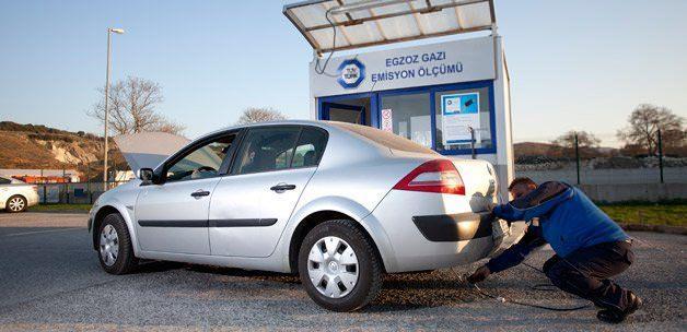 . Egzoz emisyon ölçümü yaptırmayan motorlu taşıt sahiplerine bin 895 lira ceza uygulanıyor