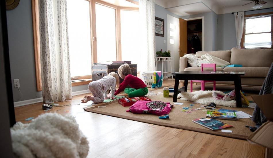 Evlerdeki dağınıklığı gideren dekorasyon önerileri
