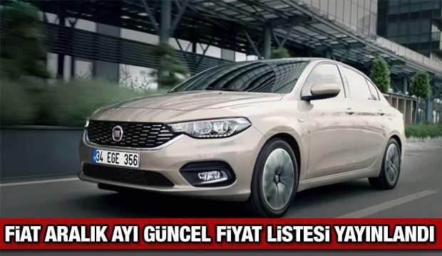 Fiat Aralık ayı güncel fiyat listesi: Fiat Egea Panda Doblo güncel fiyat listesi