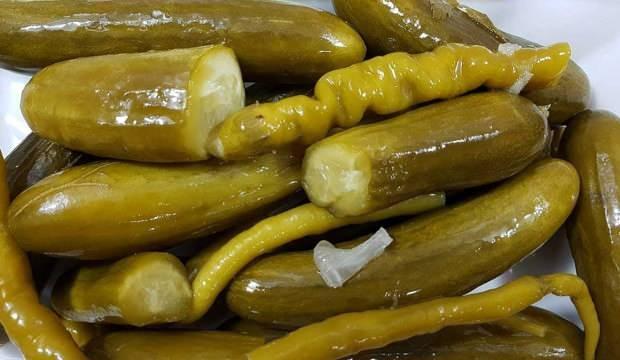 Kornişon salatalık turşusu nasıl yapılır? Ölçülü salatalık turşusu tarifi...