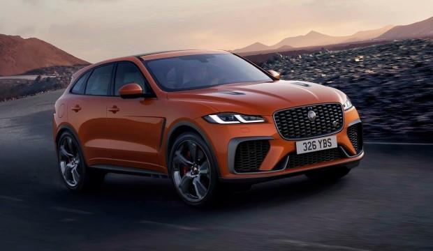 2021 Jaguar F-Pace SVR tanıtıldı! İşte özellikleri