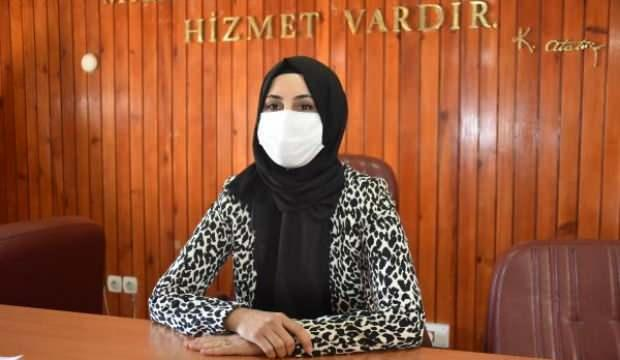 Siverek'te yeni Belediye Başkanı Ayşe Çakmak oldu