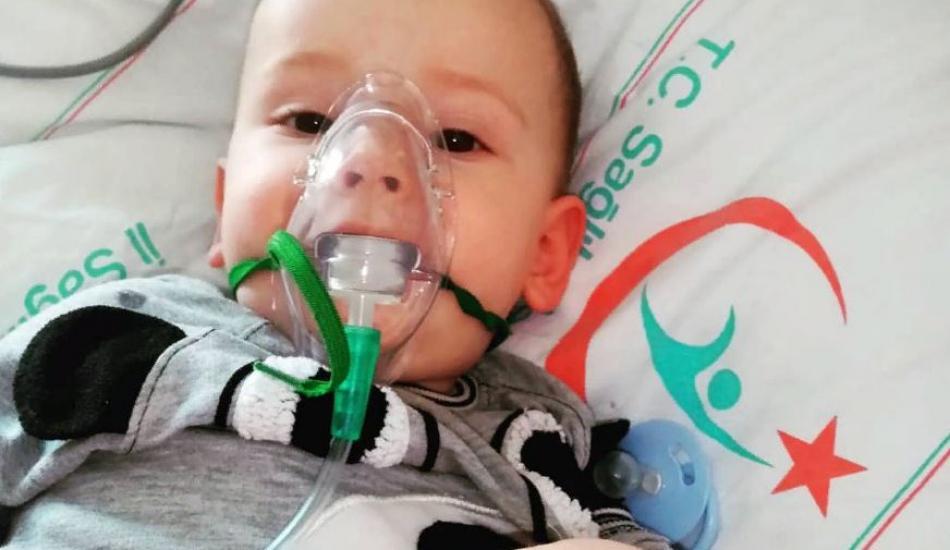 SMA hastası Mehmet Ayaz yardımlarınızı bekliyor
