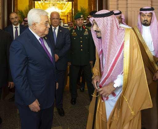 Kral Selman ve Mahmud Abbas