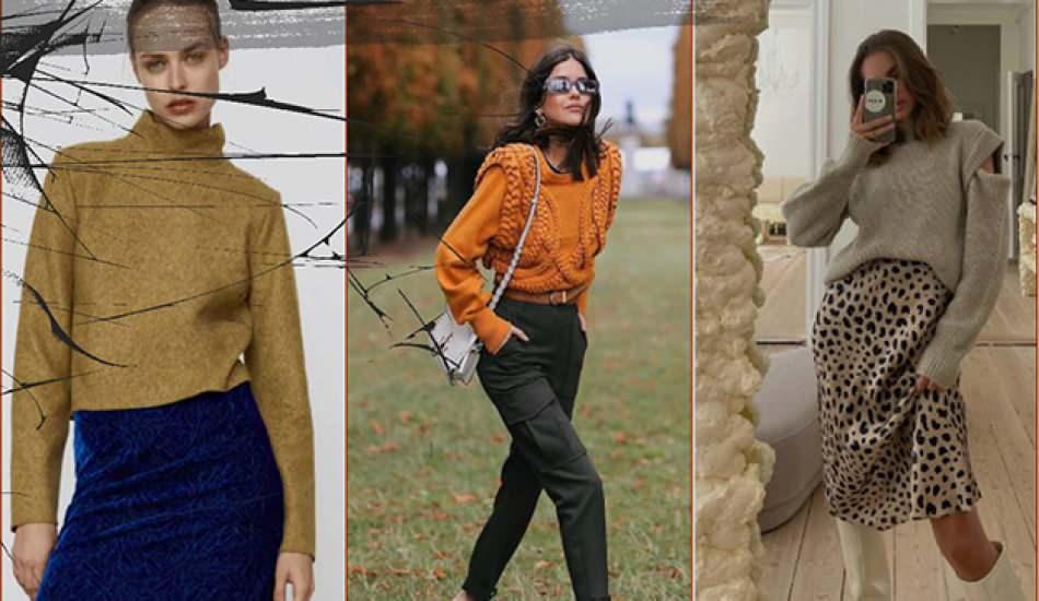Yükselen trend: Vatkalı sweatshirt ve kazaklar Birbirinden güzel vatkalı kazak modelleri