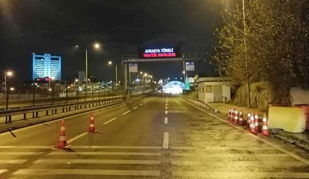 Avrasya Tüneli'nde acil durum tatbikatı