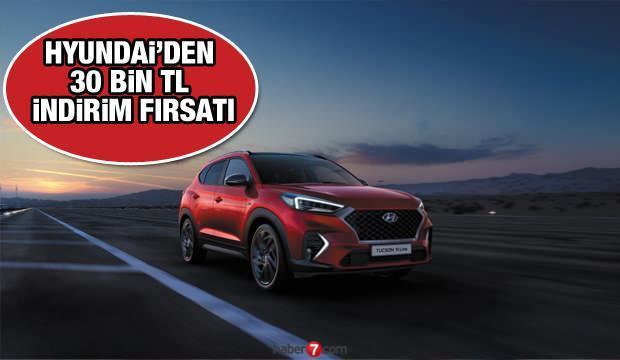 Hyundai'dan 34 bin TL indirim fırsatı: Hyundai  i20, Kona, Tucson, i10, Elentra fiyatları