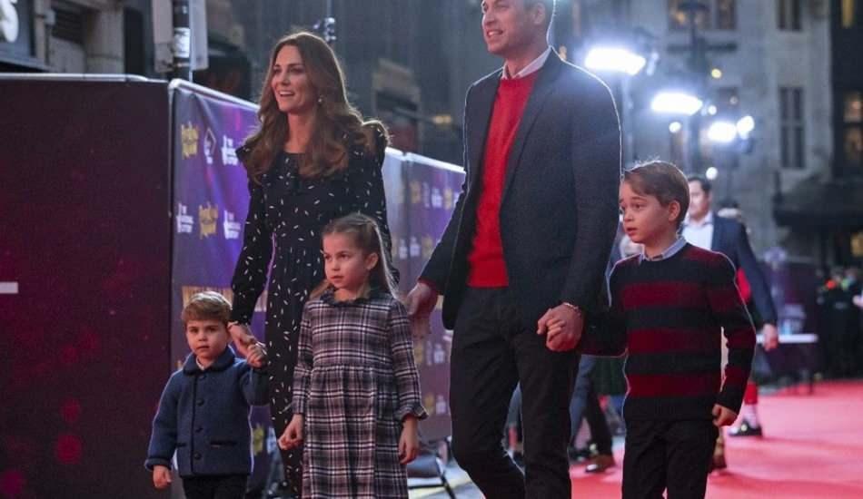 Kraliyet ailesi kırmızı halıda maskesiz yürüdü!