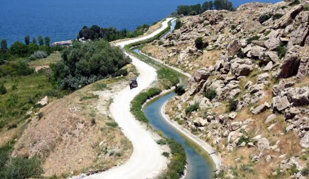 """Van'ın 3 bin yıllık Şamran Kanalı """"UNESCO"""" yolunda"""