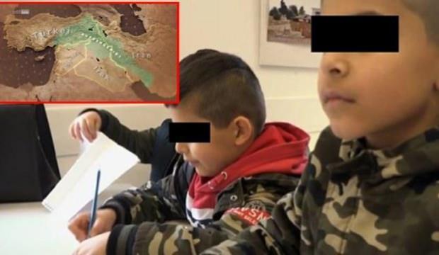 Almanya'da skandal belgesel: Çocuklara terörist elbisesi giydirip PKK propagandası yaptılar