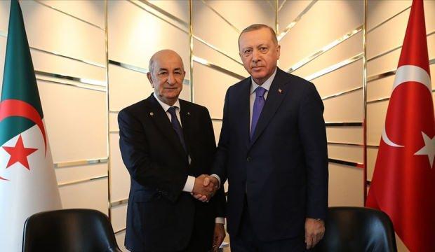 Başkan Erdoğan, Cezayir Cumhurbaşkanı Abdülmecid Tebbun ile telefonda görüştü