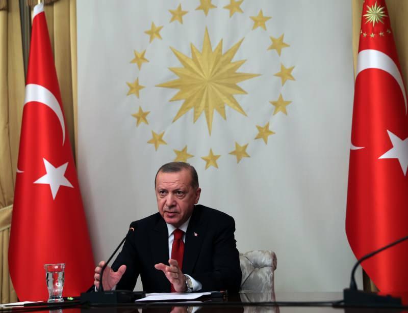 Κρίσιμη συνάντηση με τη Μέρκελ από τον Πρόεδρο Ερντογάν