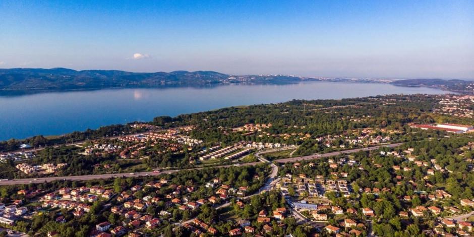 'İstanbul'un arka bahçesi' Sapanca salgın sürecini yoğun geçiriyor