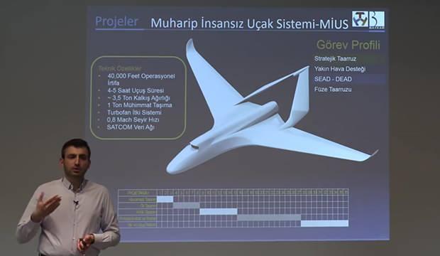 Muharip İnsansız Uçak Sistemine (MİUS)