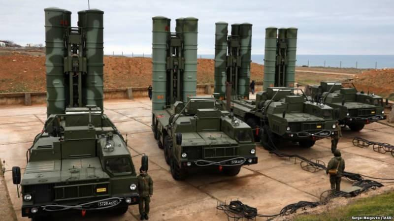 Rus yapımı hava savunma sistemi S-400