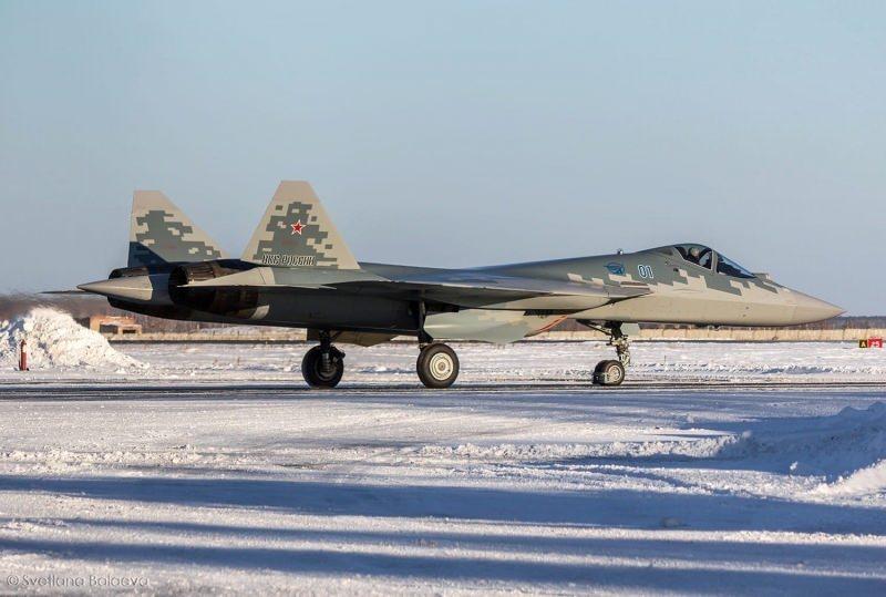 Seri üretimden çıkan ilk Su-57