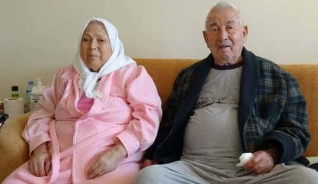 Biri 92, diğeri 82 yaşında! 21 günlük tedavi ardından hastalığı yendiler