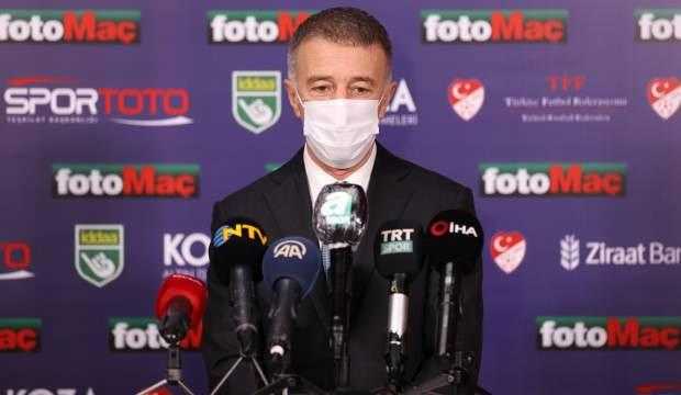 Ahmet Ağaoğlu: 1-2 oyuncuyla daha temas halindeyiz
